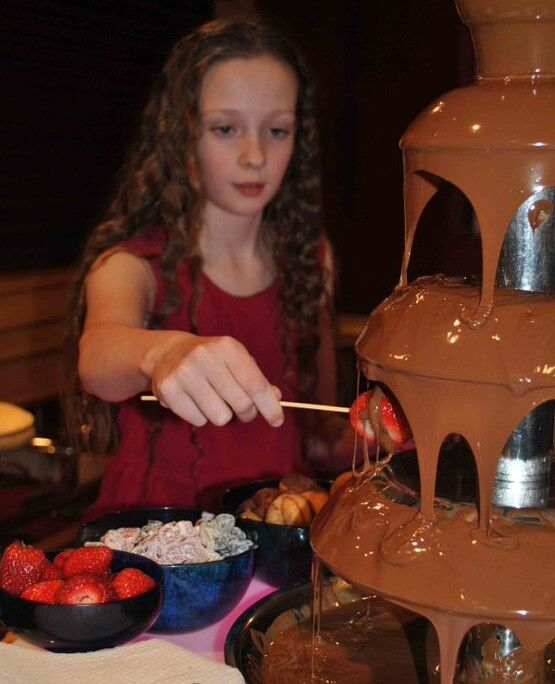 Chocolate fondue anyone?