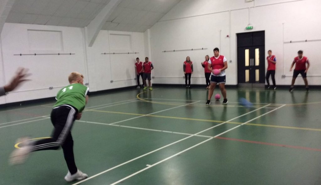Freshers' Dodgeball, OUCH!